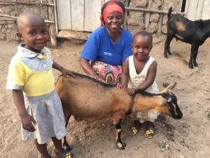 Ejo julian mother kids goat