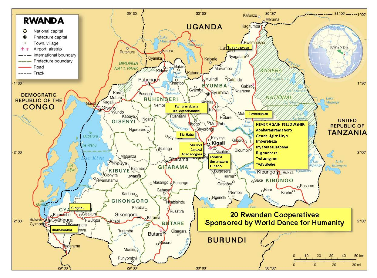 RWANDA MAP with coops 7-15