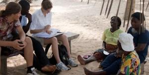 ghana group on sand
