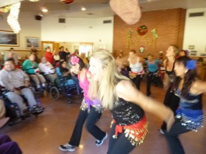 Betsy Stivers: Thanks for such a wonderful opportunity to share the joy of dance and music!  It filled my heart to see so many faces light up, especially when we could one on one dance together.  I can't think of a better way to start off the holiday season!