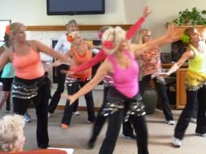 ! x Casa group dancing