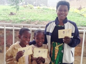 """""""This is a new story in my family. Things are new. These cards hold great memories between us and our donors. We thank them so much for their love, hard work and their presence into our lives."""" Speciose Mujawayezu - Cokawi Cooperative"""