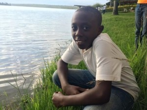 """I have never been to the lake before but now I am sitting by it. I am so much happy and I feel I am not the same person. Getting this chance to come here is very meaningful. I am glad I was chosen to be part of this program."" Pascal Uwimpuhwe."