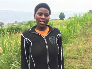 """No more struggling while using other people's lands, we are going to treat this land as well as we can as we own it. I can imagine how much production we will be getting from such a big land like this. So many thanks to Janet and the World Dancers for giving us the money to buy it."" Donatha Nzamwita"