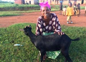 Genda goat pink black