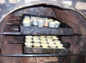 2 Tubeho muffins baking