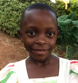 Anita Akimana is a 7 year-old girl, one of the new orphans at Ejo Habo orphanage.