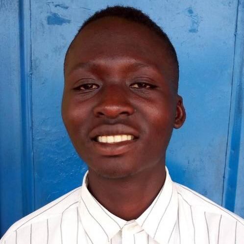 HIGH SCHOOL: Calpophore Nzeyimana is an 18 year-old boy from Kungabu Cooperative who lives with his mother who has AIDS, and his siblings. His father died and his mother is no longer able to finance his education.
