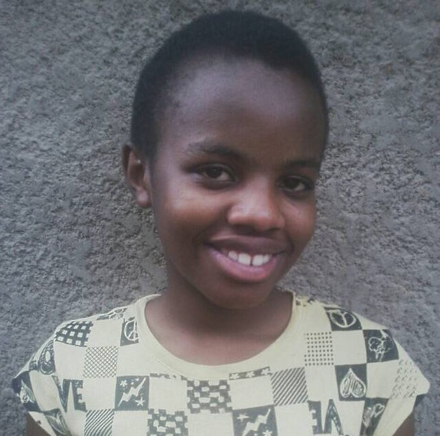SPONSORED BY JENNEFER - Christella Mwizerwa Nshuti is a 12 year-old girl in the first year of high school from Kungabu Cooperative. Her parents were only able to pay for her primary school education.