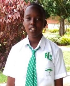 Henriette Umubyeyi Kayabo is a 15 year-old girl from a poor family that was only able to finance her first three years of secondary school.