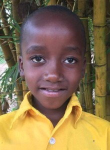 Isdras Imfurayingabo is a 9-year-old boy in 3rd grade. His parents are poor and they can't afford to pay for his education. He has one sister named Grace who is 13 years old. He loves to play soccer.