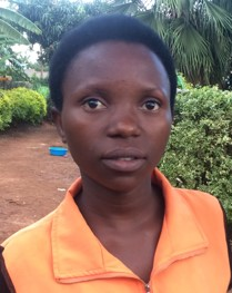Viollette Nyirandayambaje is a 25 year-old young woman who did not have the means to finish high school. She is one of the new orphans at Ejo Habo orphanage.