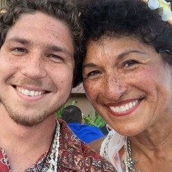 Brett Stormoen and mom Olga Herrera Pinal