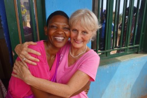 "JANET REINECK: ""Each community we visit greets us with an avalanche of love, joy, and gratitude. And every day I am completely amazed, watching every person in our group rise to meet this intense, raw emotion with full heart, holding nothing back. The human connection we are forging here is truly a force to behold!"""