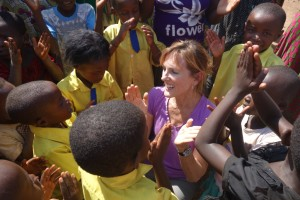 "DANNA MEAD:  ""Halfway through the trip and my thoughts are reeling. We've each been touched in our own way by the Rwandan people and have been humbled in ways that are difficult to describe. I've been inspired by their perseverance and determination. I can't pretend to imagine what they have experienced and find it nearly beyond belief that they are able to not only survive but to welcome us so warmly into their lives and share so much with us. I feel so incredibly privileged to be with these people."""