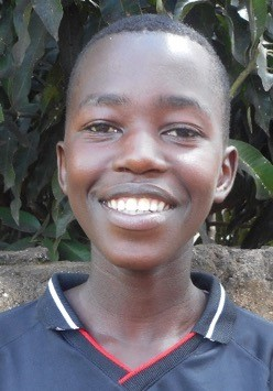 Jean De Dieu Niyonsenga is a 16 year-old orphan boy who lives with his 6 siblings.