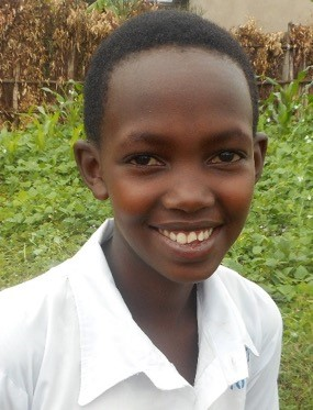 Olive Mugeni is a 13 year-old orphan girl who was adopted by her aunt who is Genocide widow.