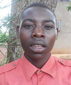 Thomas Bigirimana is a 20 year-old boy who lives with his mother who was rejected by her husband.