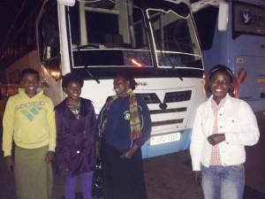 DfG Pad Training - the bus for Uganda
