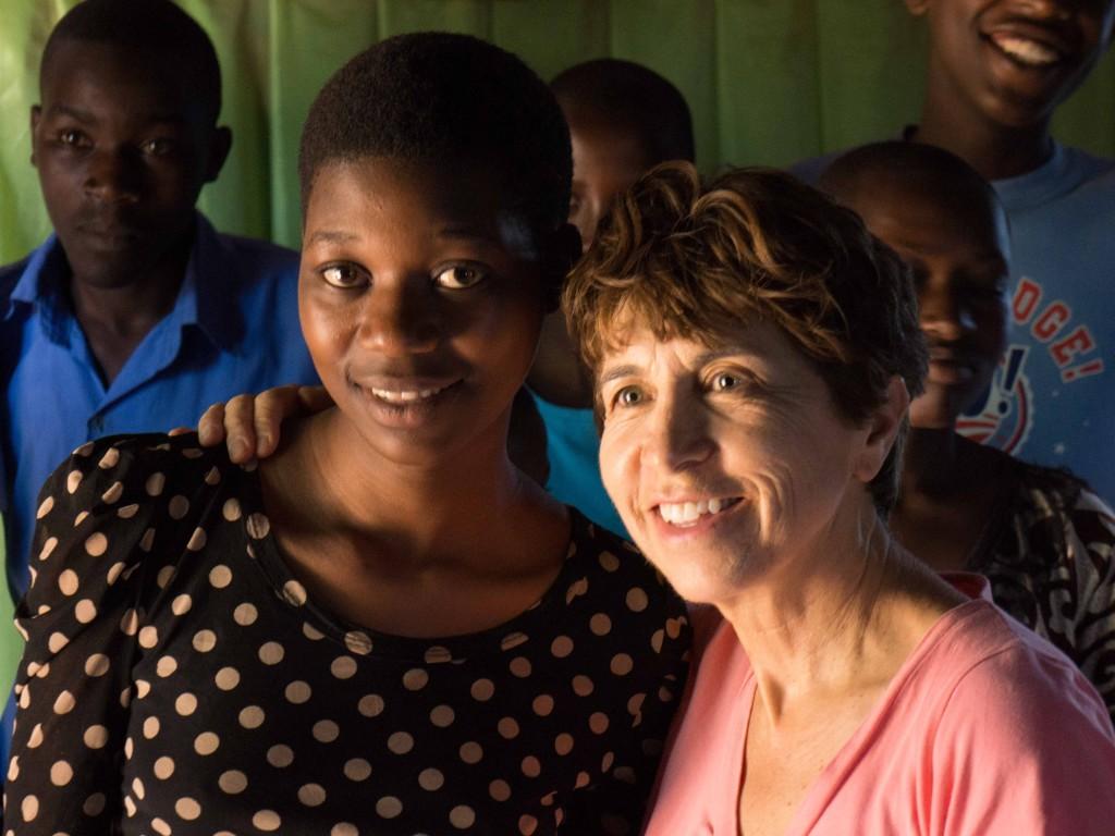 ! Kayonza Sherry and friend