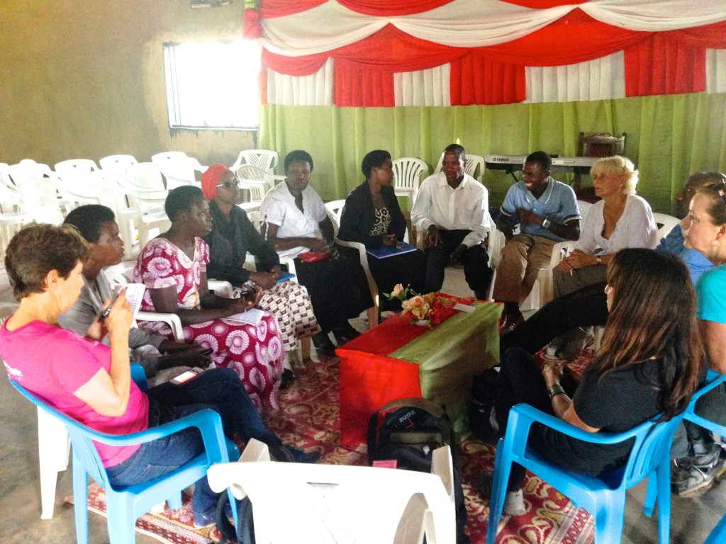 ! Kayonza meeting with coop leaders