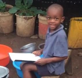 Boaz studying c