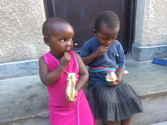 Ejo Habo orphans toddlers