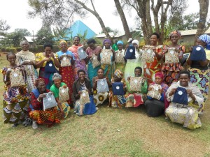 ! Crafty Ladies Pads to Ruganeheza group