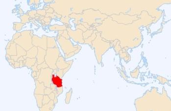 tanzania-china map