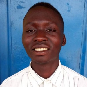 Calpophore Nzeyimana lives with his mother who has AIDS, and his siblings. His father died and his mother is no longer able to finance his education. He is 18 years old, in the 5th year of high school.