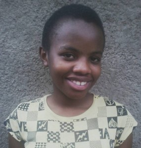 Christella Mwizerwa Nshuti's parents were only able to pay for her primary school education. She is 12 years old, in the 1st year of high school.