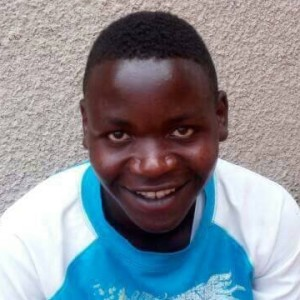 Eric Tuyizere is an orphan and has been out of school for two years due to lack of funds. He is 21 years old, in his second year of high school.