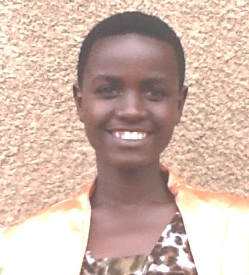 SPONSORED BY DIANE MIELK!  Solange Mudahogora is from a very poor family with 5 other children. She is 17, attending Tourism/Hospitality vocational school.