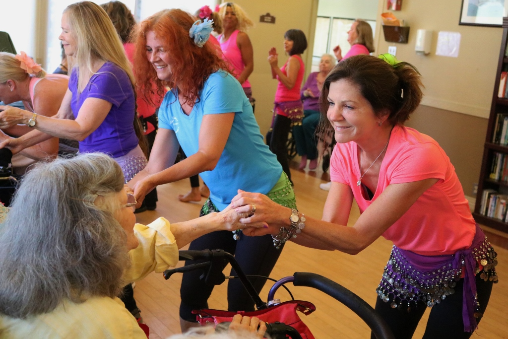 Dance Outreach to wheelchair-bound seniors and disabled adults