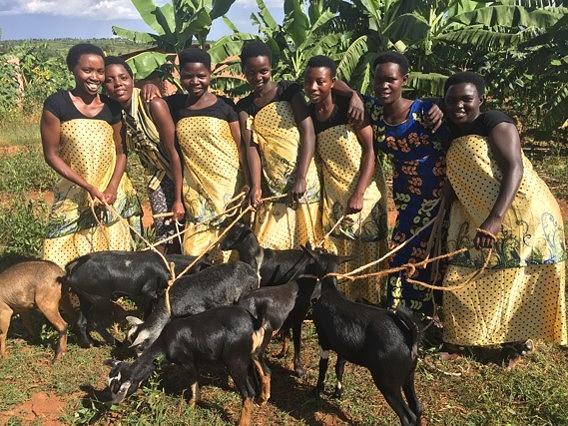 Itorero goats girls 1