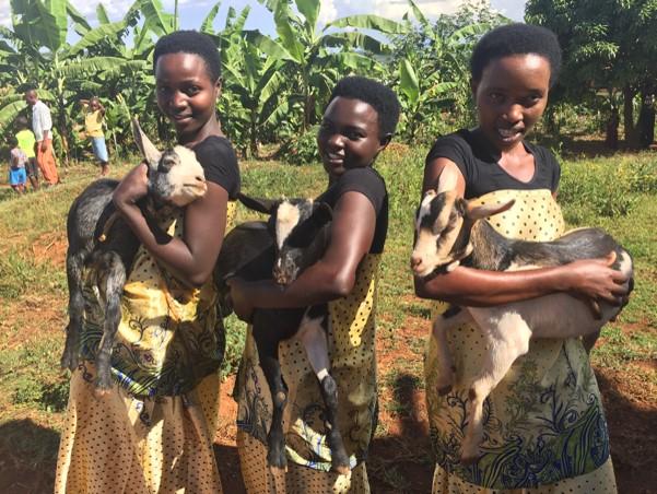 Itorero goats girls 2