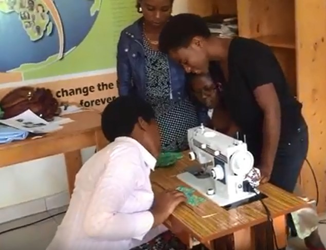 We helped 4 of our co-ops start a Reusable Menstrual Pad Business to provide a crucial resource for women and girls in our co-ops and beyond.