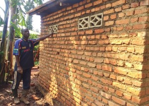 Rugan bricks installed