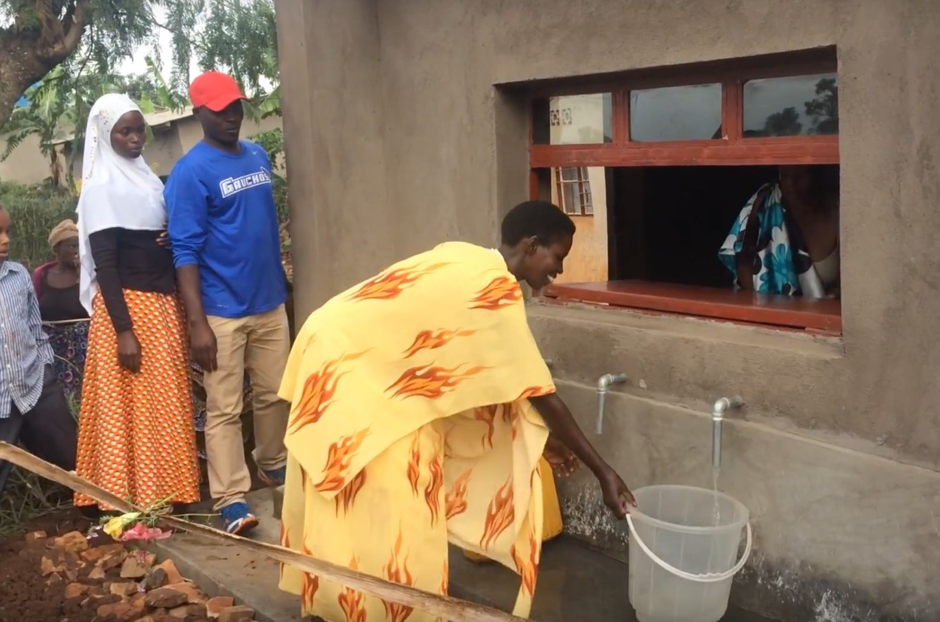 RUGANEHEZA'S WATER BUSINESS is well established now, serving the co-ops members and all their neighbors with a priceless resource: clean water.