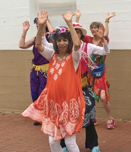 """Juanita Johnson:   """"Solstice was a totally joyful experience. Dancing together makes me so aware of our intention for community and service and fun! Not just for us, but for our SB community. We need a bit of hope and joy at this moment and our participation in Solstice certainly provided that!"""""""